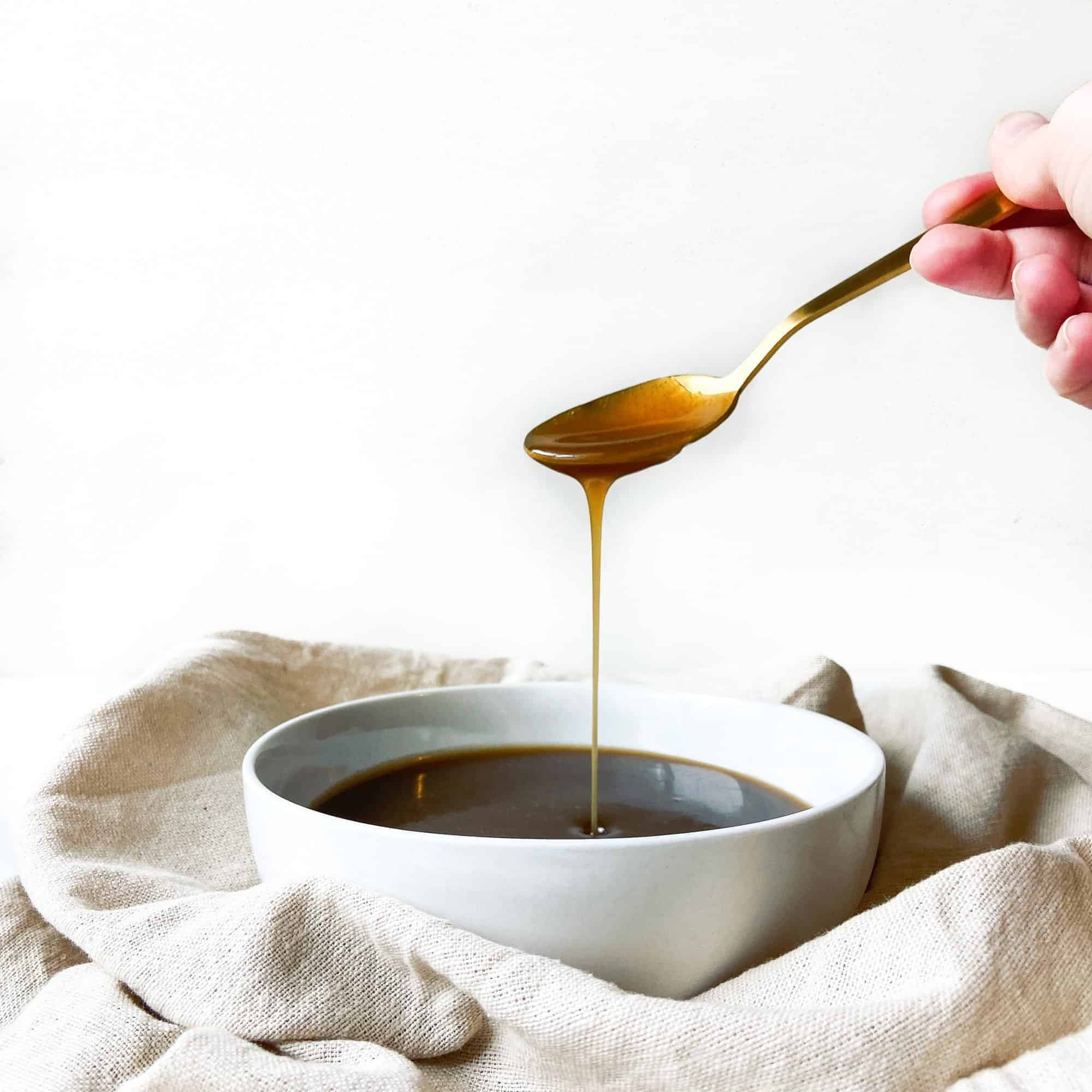 quick and easy caramel