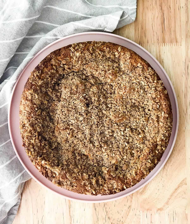 Gluten-Free Sticky Crumb Cake