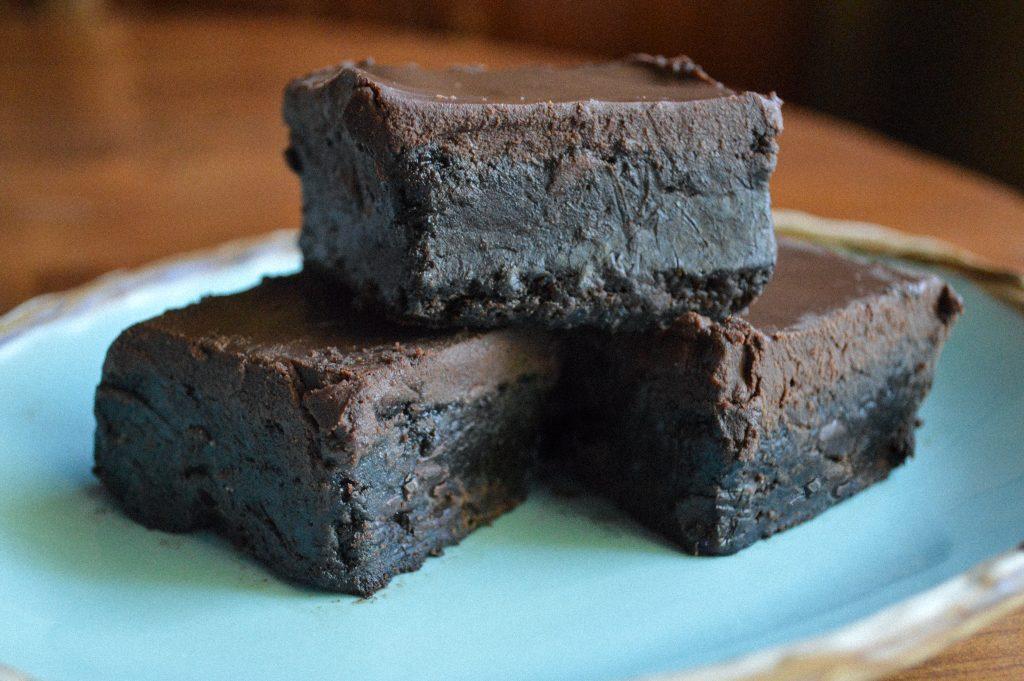 Chocolate Ganache Covered Brownies