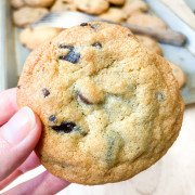 a chewy chocolate chunk cookie