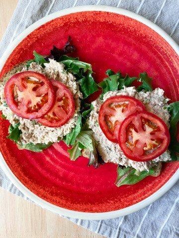 Tuna Salad on Toast