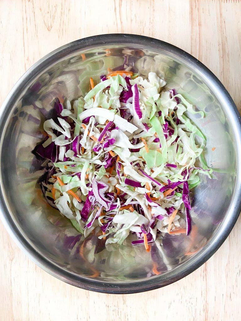 undressed coleslaw mix