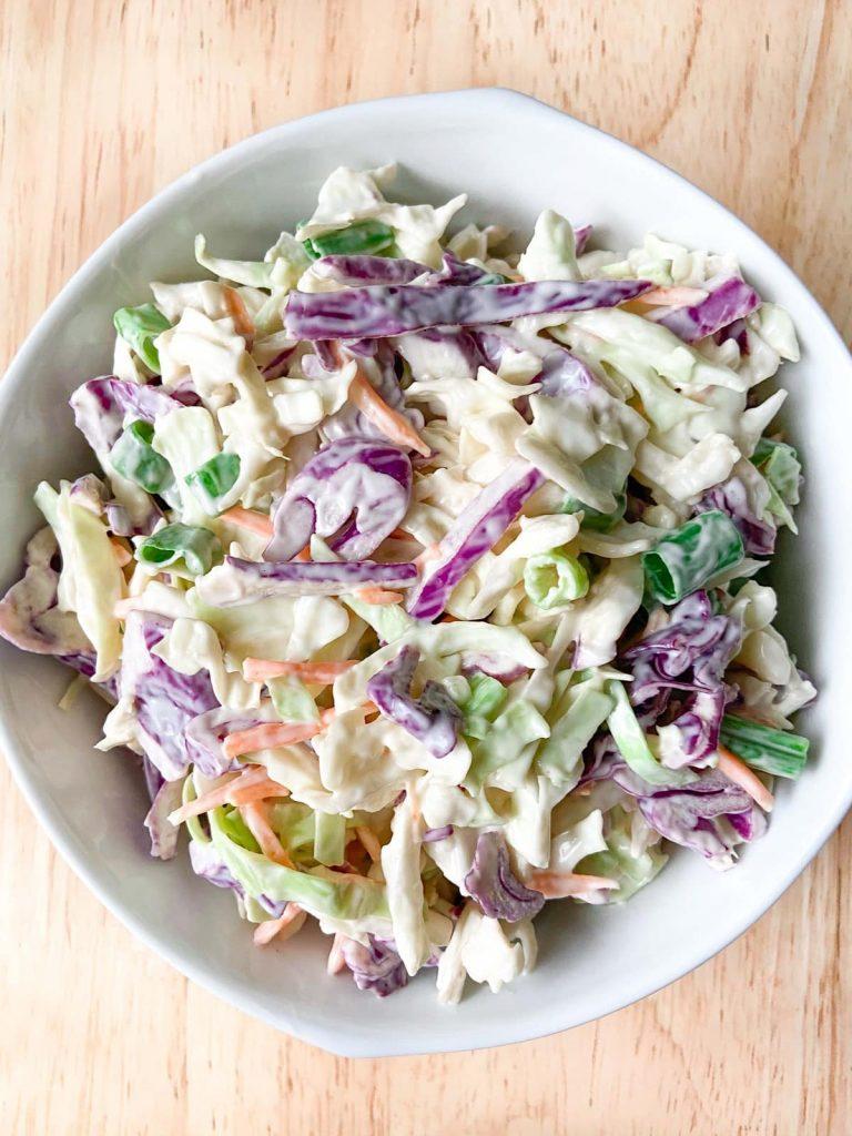 5 ingredient coleslaw