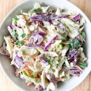Coleslaw in a bowl