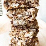S'mores Rice Krispie Treats Stack