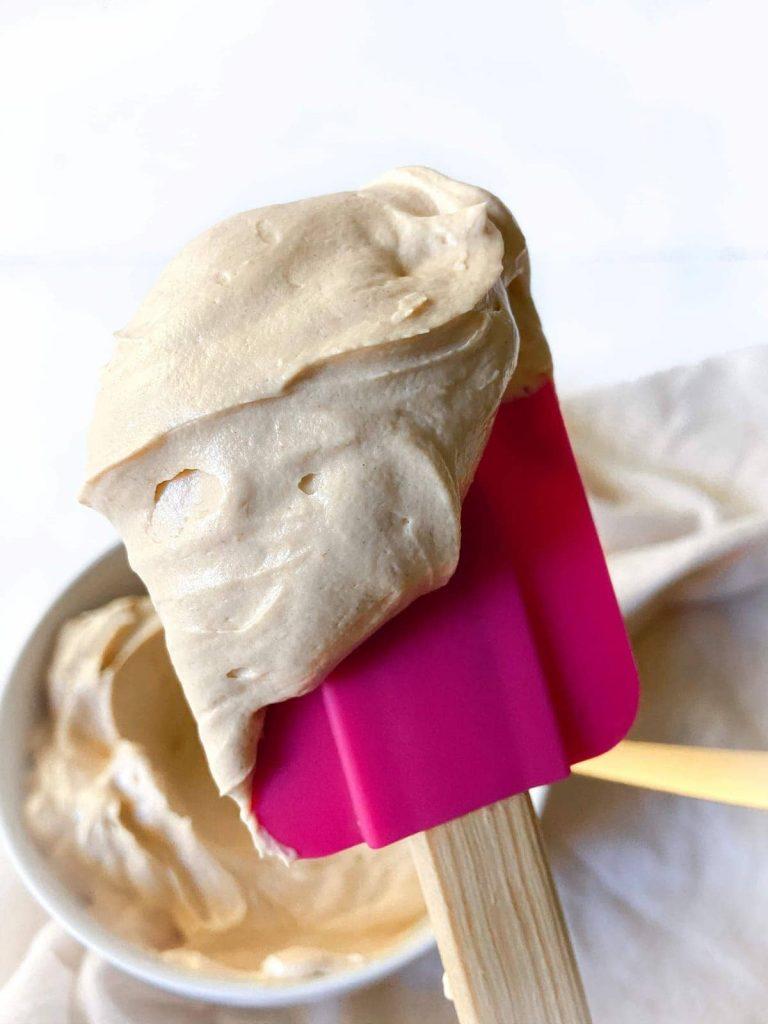 fluffy peanut butter frosting recipe