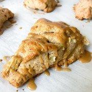 Apple Cinnamon Pecan Scone