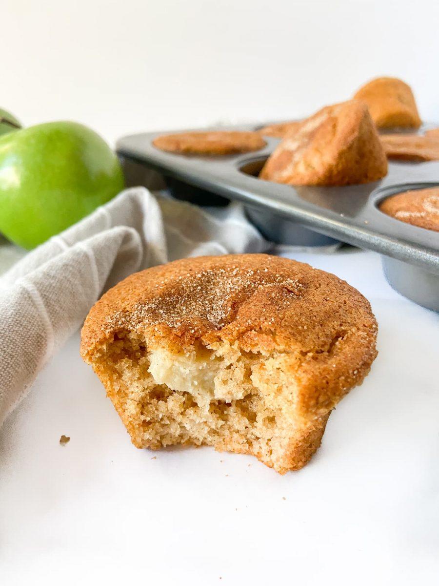 Apple Cinnamon Protein Muffins