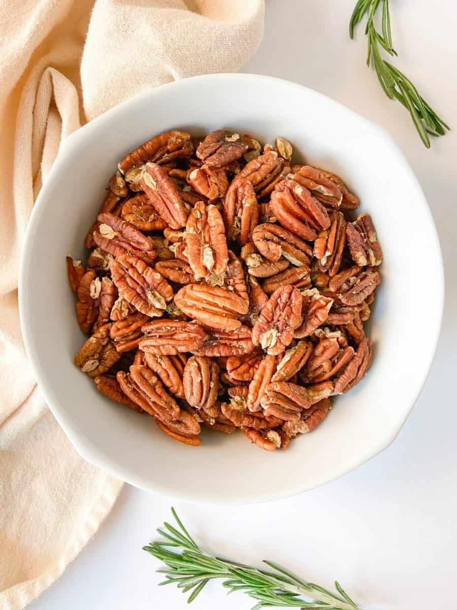 Rosemary Spiced Nuts