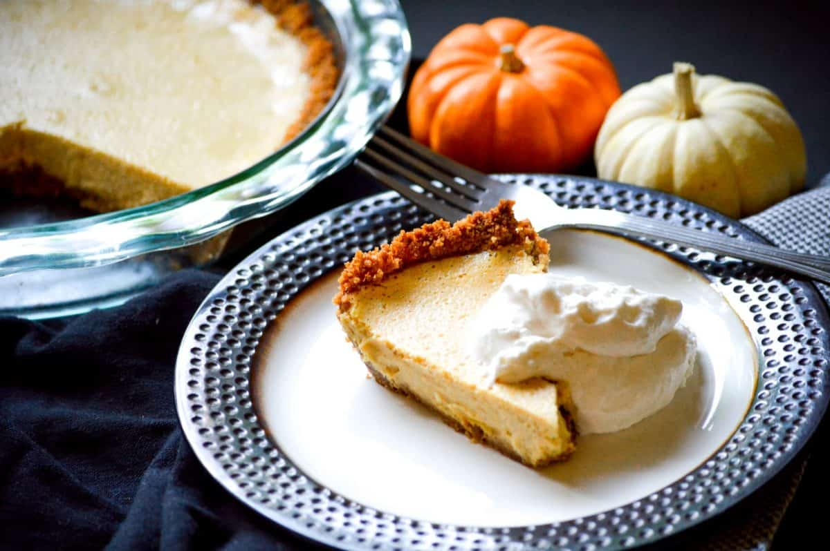pumpkin cream cheese pie recipe
