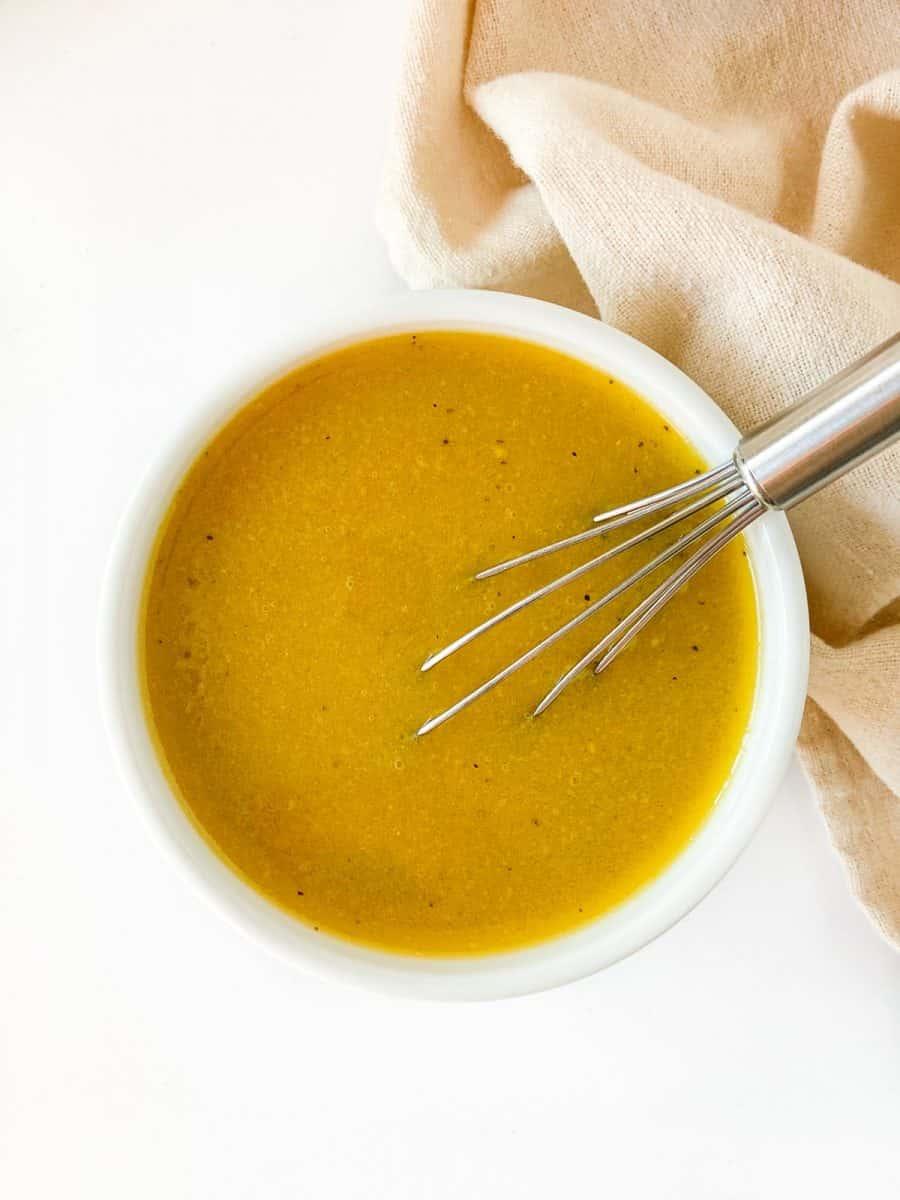 homemade honey mustard salad dressing recipe