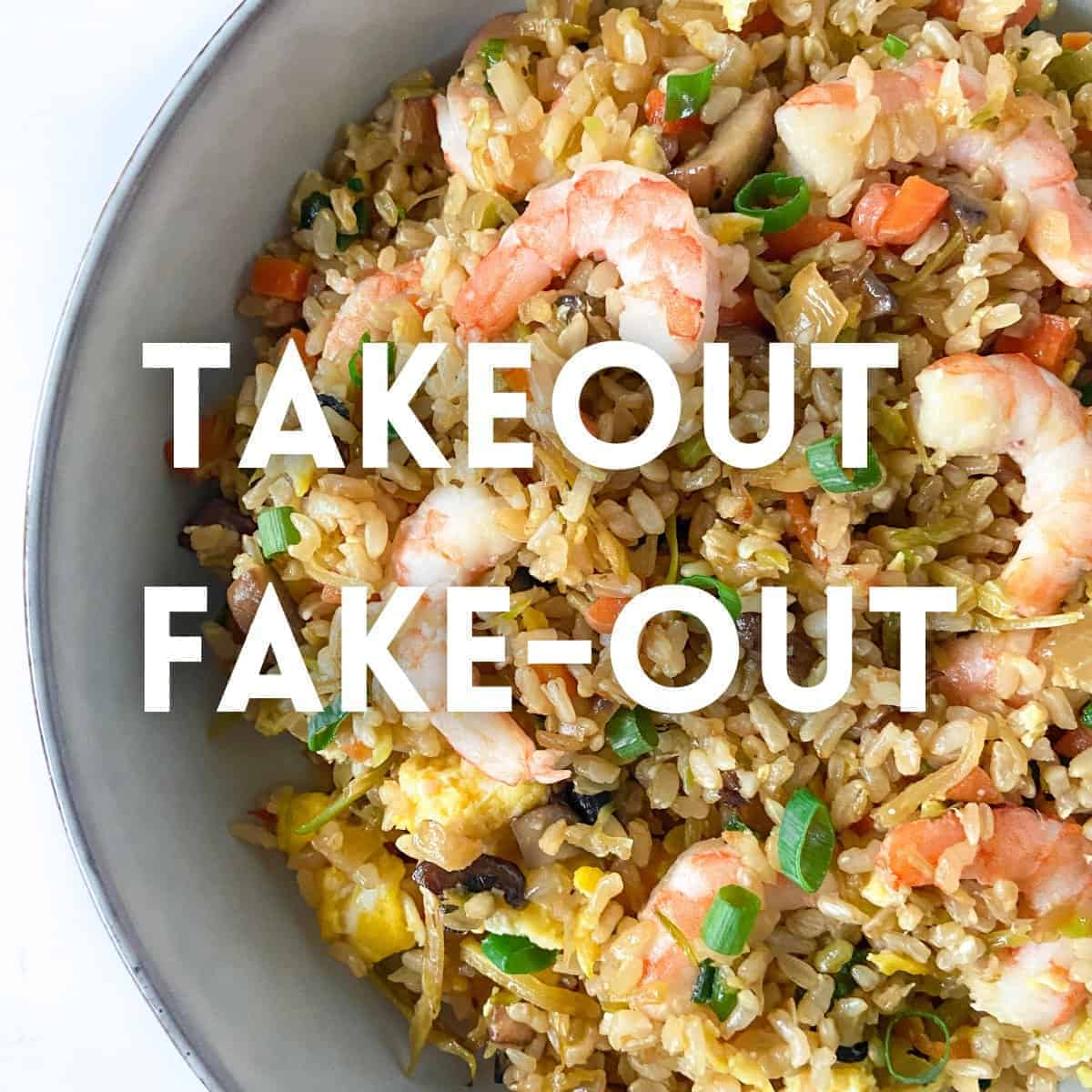 Takeout Fake-Out