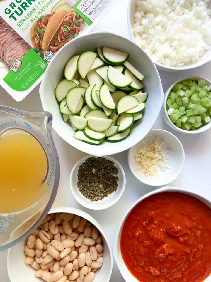 Ingredients for this soup recipe